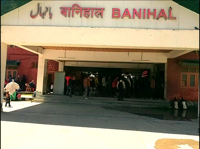 banihal railway station