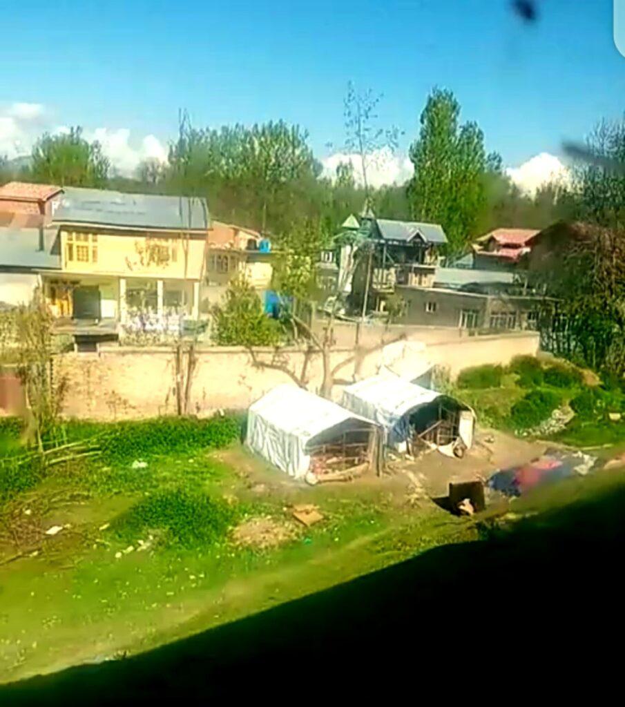 local kashmiri house