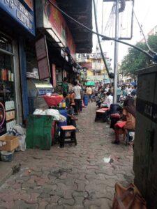 street food shops near park street