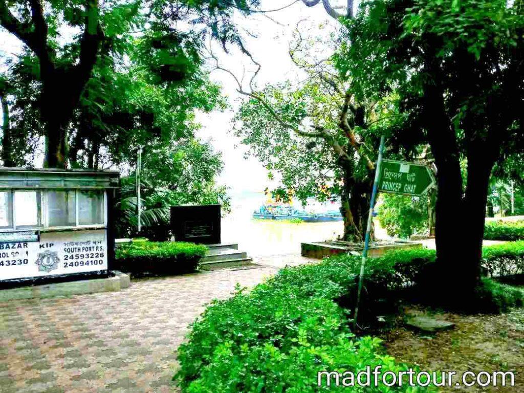 princep ghat garden kolkata