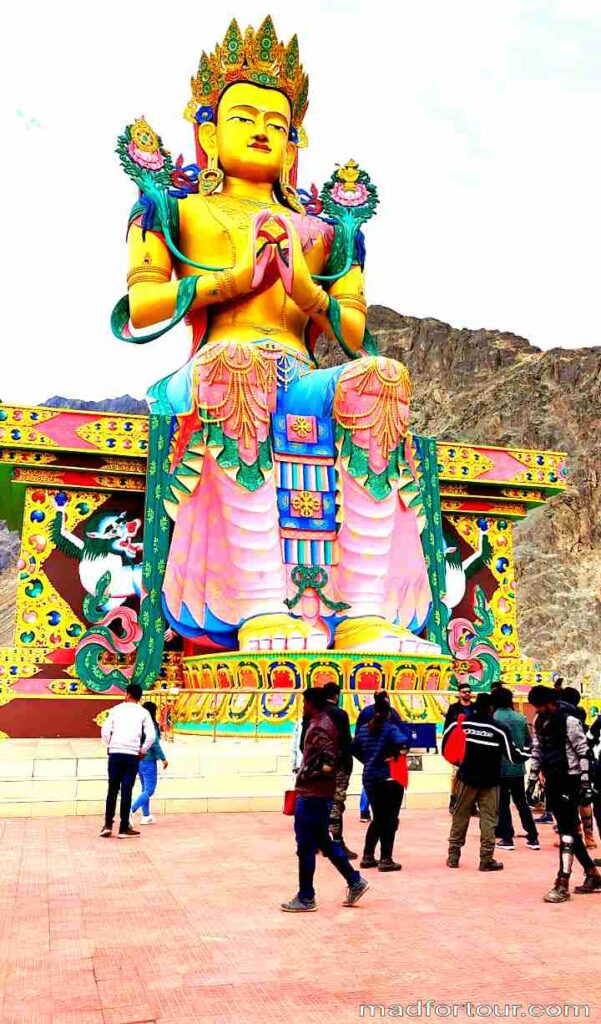 Buddhist monastery in leh